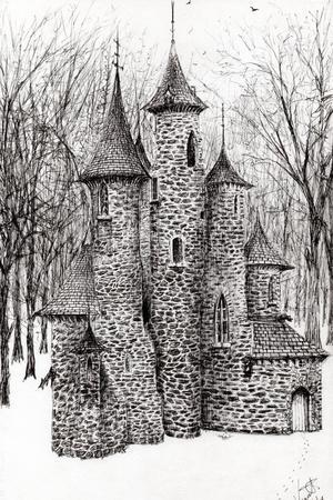 The Castle in the Forest of Findhorn, 2008