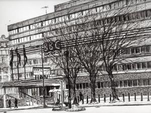 The Old BBC Oxford road Manchester, 2011 by Vincent Alexander Booth