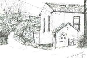 The Old Chapel, BrighstoneIsle of wight, 2008 by Vincent Alexander Booth