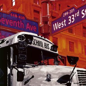 School Bus by Vincent Gachaga