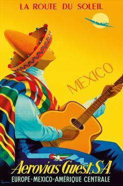 Mexico - La Route du Soleil (Route of the Sun) - Aerovias Guest, S.A. (South America) Airline by Vincent Guerra