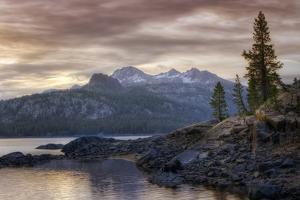 Alpine Lake Morning by Vincent James