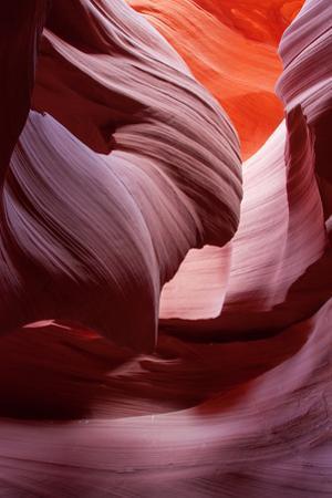 Antelope Canyon Abstract, Page Arizona Navajo