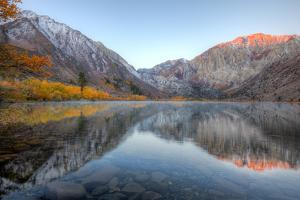 Autumn Morning, First Light, Convict Lake, Sierra Nevada by Vincent James