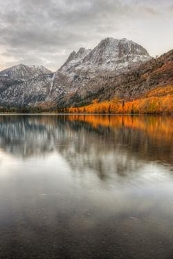 Autumn Reflection at Silver Lake, Eastern Sierras by Vincent James