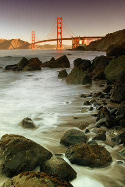Baker Beach and the Golden Gate Bridge by Vincent James