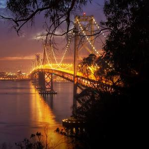 Bay Bridge, A Night on the Town, San Francisco by Vincent James