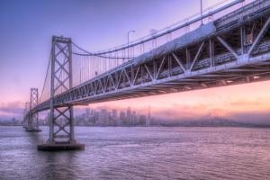 Bay Bridge Wasteland, Desolation View, San Francisco by Vincent James