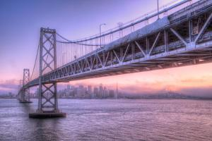 Bay Bridge Wasteland, Desolation View, San Francisco by Vincent James