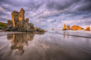 Beach Formations, Bandon, Oregon Coast by Vincent James