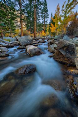 Bishop Creek Canyon Flow, Eastern Sierras California by Vincent James