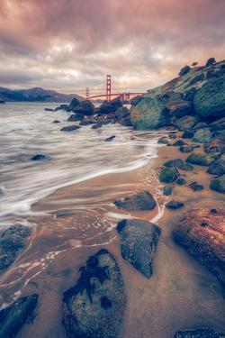 Blustery Day at Golden Gate Bridge, San Francisco by Vincent James