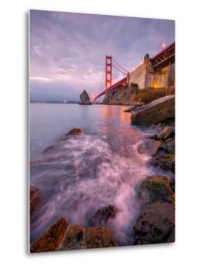 Blustery Golden Gate Bridge From Fort Baker by Vincent James