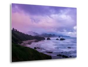 Blustery Morning Mood at Cannon Beach, Oregon Coast by Vincent James