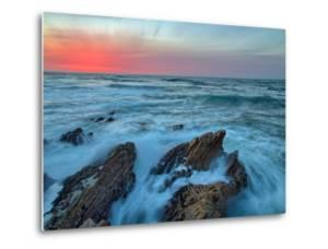 Central Coast Seascape at Montaña de Oro by Vincent James
