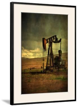 Classic Oil Rig, Central California by Vincent James