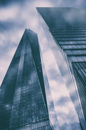 Cloudscape at One World Trade Center, New York City by Vincent James