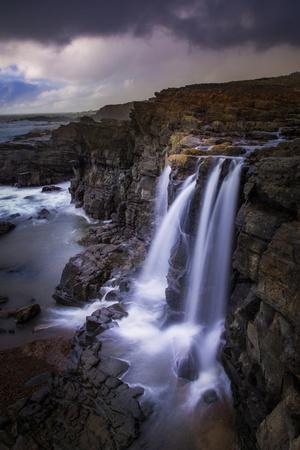 Coastal Falls Magic and Mood, After The Rain,  California Coast