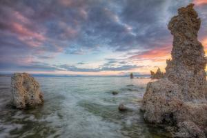 Colorful Mono Lake Sunrise, Sierra Nevada by Vincent James