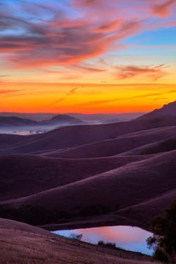 Dark and Moody Sunrise, Petaluma Sonoma County, Bay Area by Vincent James