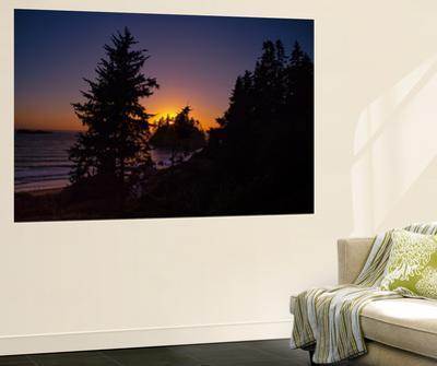 Dark Sunscape at Trindad, California Coast by Vincent James