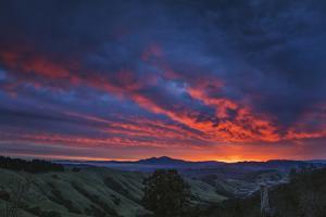 Diablo Before Dawn - Sunrise Magic Bay Area California by Vincent James