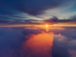 Diablo Rising - Classic Epic Sunrise Mount Diablo San Francisco East Bay by Vincent James