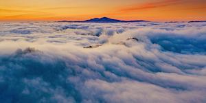 Diablo Sun Rising - Classic Epic Sunrise Mount Diablo San Francisco East Bay by Vincent James