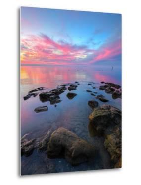 Divine Sunset Scene at San Pablo Bay by Vincent James