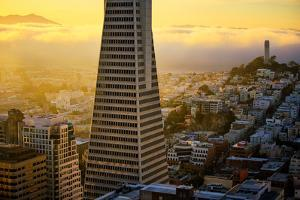 Downtown Detail and Golden Light, San Francisco, Cityscape, Urban View by Vincent James