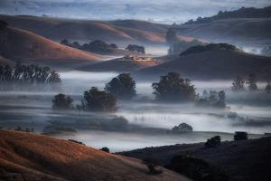 Dreamy Hills of Petaluma, Sonoma County, Bay Area, California by Vincent James