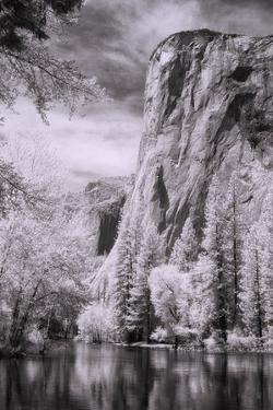 El Capitan and the Merced River, Infrared by Vincent James