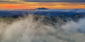 Epic Diablo Rising - Classic Epic Sunrise Mount Diablo San Francisco East Bay by Vincent James