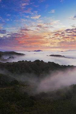 Epic Fog and Clouds Mount Diablo Bay Area Clouds Sunrise Fire (4) by Vincent James