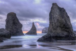 Ethereal Bandon Seascape, Oregon Coast by Vincent James