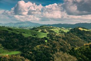 Facing East From Oakland Hills, Mount Diablo, Northern California by Vincent James
