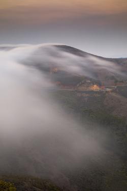 Fog Sea, Marin Headlands, Golden Gate Bridge San Francisco by Vincent James
