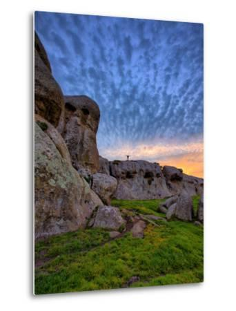 Glorious Morning Sky at Elephant Rocks, California Coast by Vincent James