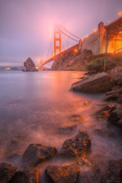 Golden Gate Within The Mist, San Francisco Bay Area by Vincent James