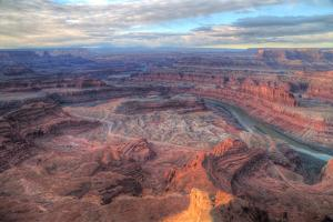 Grand Vista, Dead Horse Point, Southern Utah by Vincent James