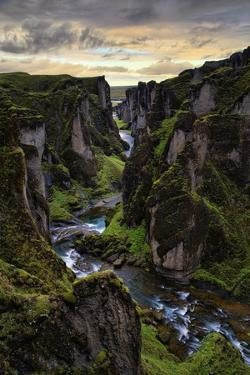 Ice Age Canyon, Game of Thrones, Iceland by Vincent James