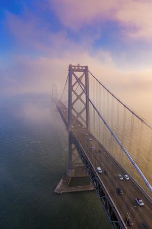 In Dreams, San Francisco Bay Bridge Fog Morning Light