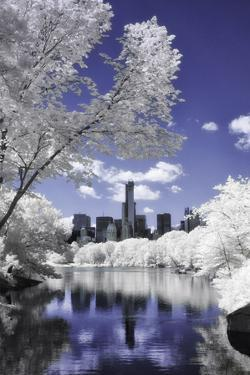 Infrared Reflections at Central Park by Vincent James