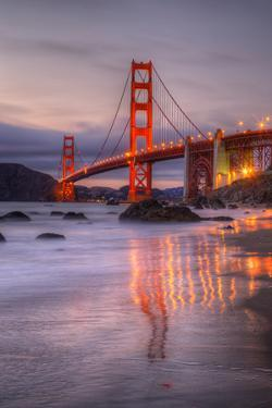 Late Summer View at the Lovely Golden Gate, San Francisco by Vincent James