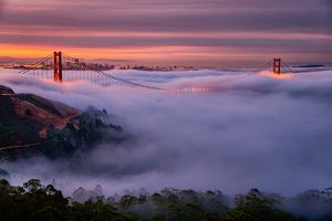 Living in this Dream of Fog and Light, Golden Gate Bridge, San Francisco by Vincent James