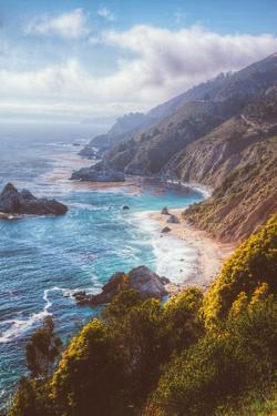 Misty Big Sur Coastline, California by Vincent James