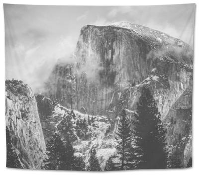 Misty Half Dome at Yosemite, California by Vincent James