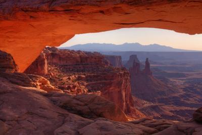 Morning at Mesa Arch, Canyonlands by Vincent James