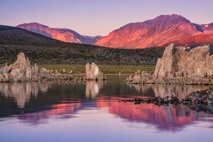 Morning Hills at Mono Lake, California by Vincent James