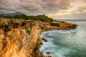 Morning View at Shipwreck Beach, Kauai Hawaii by Vincent James
